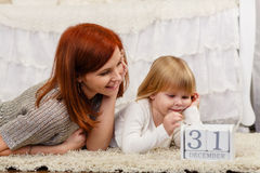 Happy young family. Stock Image
