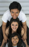 Happy young family. Royalty Free Stock Photos