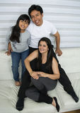 Happy young family. Stock Photo