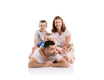 Happy young family Royalty Free Stock Images