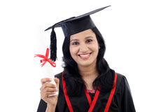 young graduate girl student holding diploma classmates stock  happy young female student holding diploma stock images