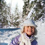 Happy young girl Royalty Free Stock Image