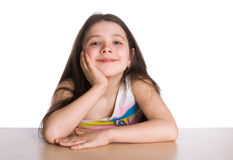 Happy young girl Royalty Free Stock Images