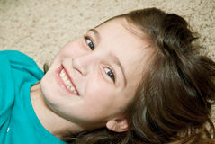 Happy Young Girl Royalty Free Stock Photo