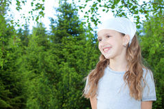 Happy young girl portrait. Royalty Free Stock Photos