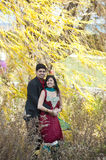 Happy Young Indian Couple Posing Stock Photography