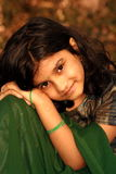 Happy young Indian girl Stock Photography