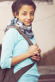 Happy young indian woman Stock Photography