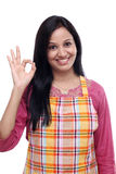 Happy young Indian woman Royalty Free Stock Photography