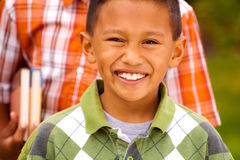 Happy young kids smiling and laughing. Stock Photography