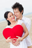 Happy young love couple Stock Image