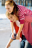 Happy young lovers Royalty Free Stock Photos
