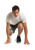 Happy Young Male Workout Royalty Free Stock Photography