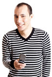 Happy young man Stock Images