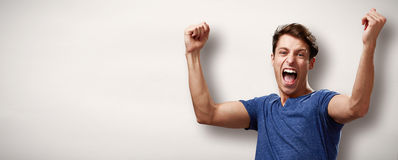Free Happy Young Man Royalty Free Stock Photos - 91229518
