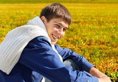 Happy Young Man outdoor Stock Photos