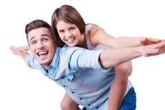 We are happy! Stock Image