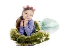 Happy Young Mermaid Stock Photos