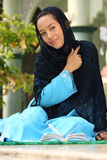 Happy Young Muslim Girl Royalty Free Stock Photo