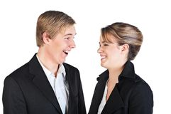 Happy young people Stock Photography