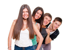 Happy young people Royalty Free Stock Images