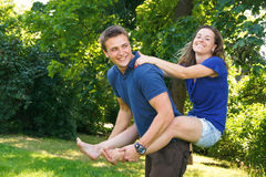 Happy young people. royalty free stock photo