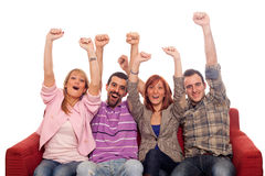 Happy Young People Royalty Free Stock Photo