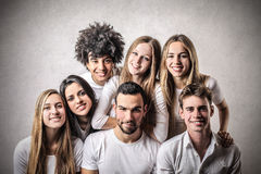 Happy young people Royalty Free Stock Photography