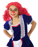 Happy Young Rag Doll Stock Photos