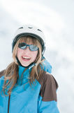 Happy young skier Stock Photography