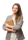 Happy young student. Royalty Free Stock Photos