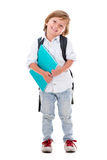 Happy young student Stock Images