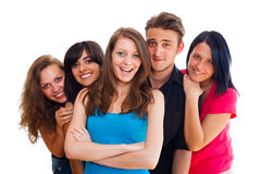Happy Young Students Stock Image