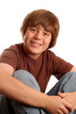 Happy young teen boy Royalty Free Stock Photo