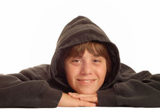 Happy young teen boy Royalty Free Stock Photography