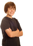 Happy young teenage boy Royalty Free Stock Photography