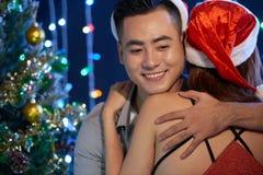 Romantic Christmas royalty free stock image