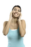 Happy young woman Royalty Free Stock Photos