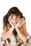 Happy young woman Stock Photography