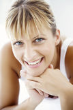 Happy young woman Stock Image