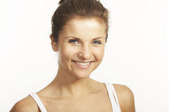 A happy young woman Royalty Free Stock Photos