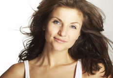 A happy young woman Royalty Free Stock Images