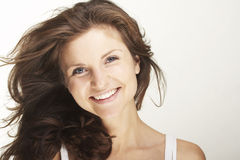 A happy young woman Royalty Free Stock Photography