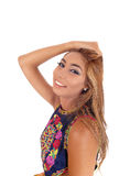 Happy young woman. Royalty Free Stock Photography