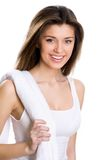 Happy young woman l Royalty Free Stock Photography