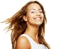Happy young woman Royalty Free Stock Images