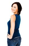 Happy young woman posing Stock Photography