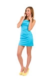 Happy young woman. Stock Photography