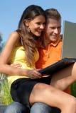 Happy youth Stock Image
