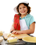 Happyl Elementary Pie Baker Royalty Free Stock Photo